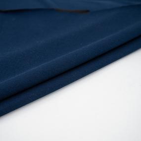 Ткань на отрез футер с лайкрой 5502-1 цвет темный индиго фото
