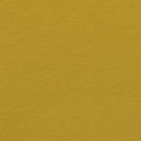 Ткань на отрез футер петля с лайкрой цвет Горчичный 01 фото