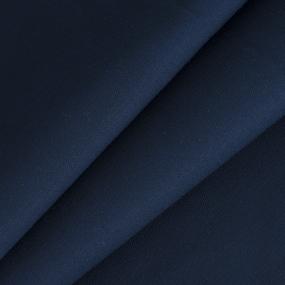 Ткань на отрез саржа 12с-18 цвет синий 02 фото