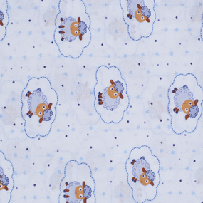 Набор детских пеленок ситец 4 шт 90/120 см 18784/1 фото