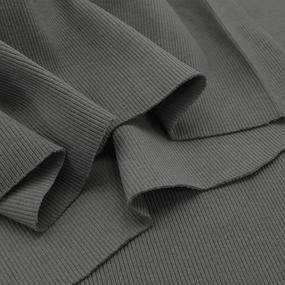 Ткань на отрез кашкорсе 3-х нитка с лайкрой цвет серый фото