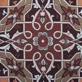Наволочка гобелен декоративная 45/45 см Ковровый узор 1-2464 фото