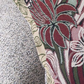 Наволочка гобелен декоративная 45/45 см Плетенка 1696 фото