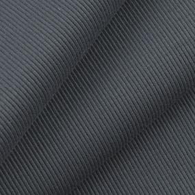 Ткань на отрез кашкорсе с лайкрой цвет серый фото
