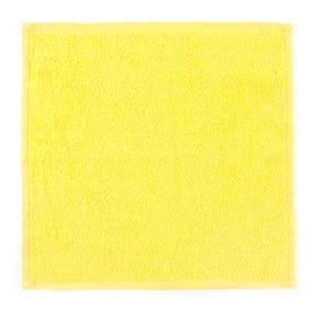 Салфетка махровая цвет 1075 лимонный 30/30 см фото