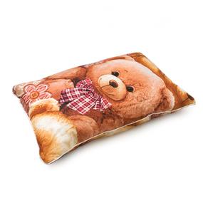 Подушка детская полиэфир чехол стеганный хлопок 40/60 фото