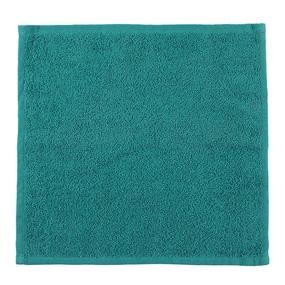 Салфетка махровая цвет 507 темно-зеленый 30/30 см фото