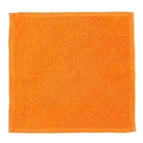 Салфетка махровая цвет 207 апельсиновый 30/30 см фото