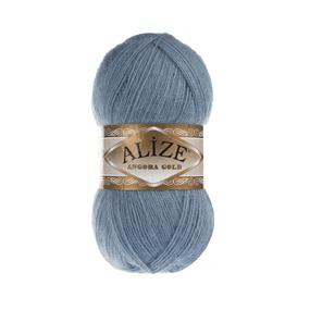 Пряжа ALIZE ANGORA GOLD 665-светлый джинс (20% шерсть 80% акрил) фото