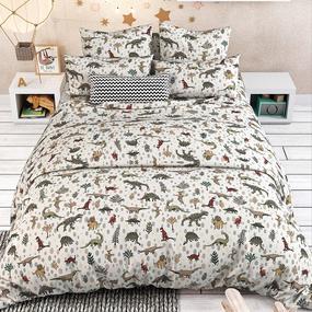 Постельное белье в детскую кроватку 7331/1 Дино фото