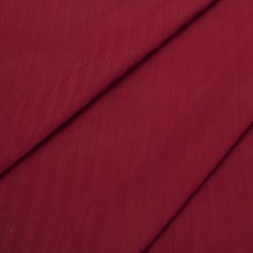 Страйп сатин полоса 1х1 см 220 см 135 гр/м2 цвет 066 бордовый фото