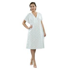 Сорочка женская ночная для рожениц бязь набивная 40-42 рост 158-164 фото
