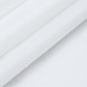 Ткань на отрез Оксфорд 210D-21 цвет белый 9 фото