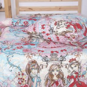 Детское постельное белье из поплина 1.5 сп 2109 фото