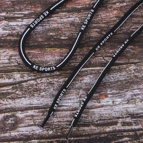Шнур круглый черный KE SPORTS 130см черный уп 2 шт фото