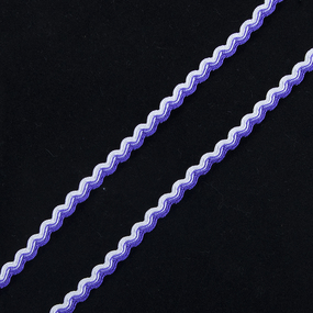 Тесьма плетеная вьюнчик С-3726 (3582) г17 уп 20 м ширина 7 мм (5 мм) рис 9253 цвет 004 фото