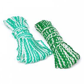 Тесьма плетеная вьюнчик С-3726 (3582) г17 уп 20 м ширина 7 мм(5 мм) рис 9253 цвет 006 в ассортименте фото