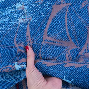 Ткань на отрез бязь о/м 120 гр/м2 150 см 11062/1 Бригантина фото