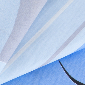 Бязь о/м ГОСТ 150 см 116/1 Гимнастика цвет голубой фото