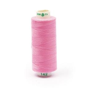 Нитки бытовые Dor Tak 40/2 366м 100% п/э, цв.142 св.розовый фото