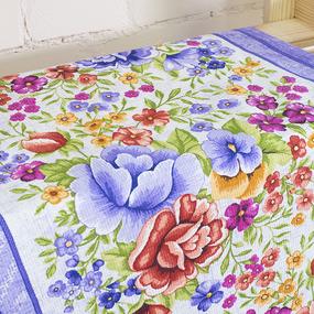 Набор вафельных полотенец 3 шт 50/80 см 5618/2 Цветочная вышивка фото