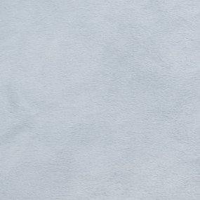 Отрез Плюш Минки гладкий Польша 53/165 см цвет серый фото