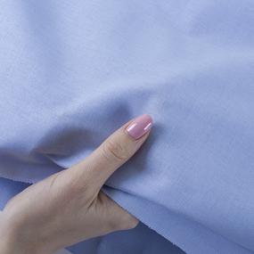 Ткань на отрез бязь М/л Шуя 150 см 12910 цвет серо-голубой фото