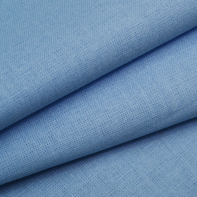 Ткань на отрез бязь ГОСТ Шуя 150 см 12400 цвет голубой фото