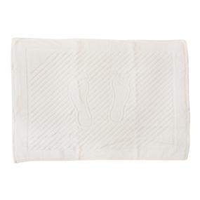 Полотенце махровое ножки 700 гр/м2 Туркменистан 50/70 см белое фото