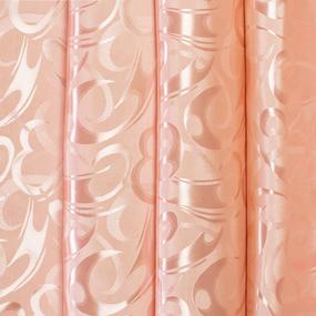 Портьерная ткань 150 см на отрез 12 цвет персиковый фото