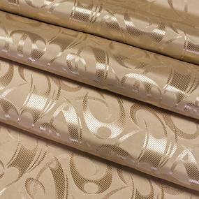 Портьерная ткань 150 см на отрез 2 цвет кофейный фото