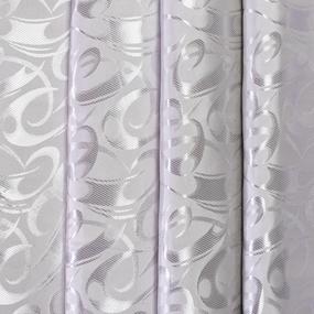 Портьерная ткань 150 см на отрез 28 цвет серый фото