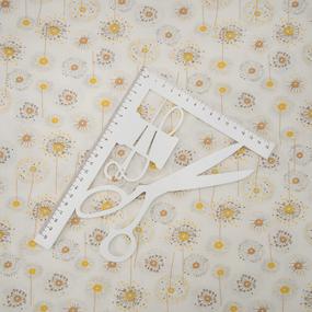 Ткань на отрез кулирка R4114-V1 Одуванчики фото