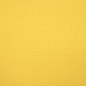 Ткань на отрез вафельное полотно гладкокрашенное 150 см 240 гр/м2 7х7 мм цвет 088 цвет желтый фото