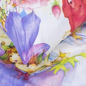 Детское постельное белье 4617/1 Цветочные феи 1.5 сп перкаль фото