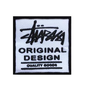 Нашивка Original Design белая 5.5*5.5 см фото