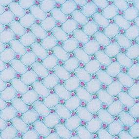 Ткань на отрез фланель 80 см 20020 Цветочный дамаск фото