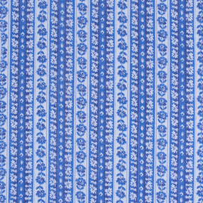 Ткань на отрез фланель 80 см 23052 Цветочная полоса фото