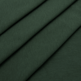 Ткань на отрез кулирка с лайкрой цвет хаки фото