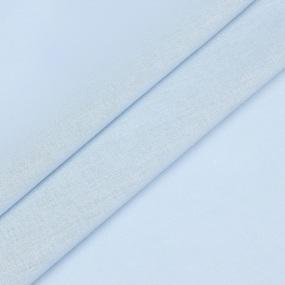 Ткань на отрез муслин гладкокрашеный 135 см 22111 цвет голубой фото