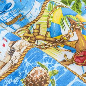 Полотенце вафельное пляжное 30146/1 Море 150/75 см фото