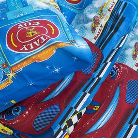 Детское постельное белье из бязи 1.5 сп 3672/1 Ралли фото