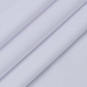 Рубашечная ткань на отрез 150 см цвет белый фото
