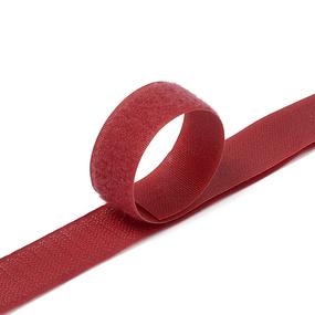 Лента-липучка 25 мм 25 м цвет F178 бордовый фото