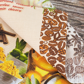 Набор вафельных полотенец 3 шт 50/60 см 5340/1 фото