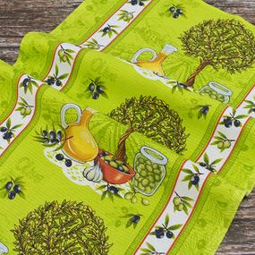 Набор вафельных полотенец 3 шт 50/80 см 5390/1 фото