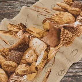Набор вафельных полотенец 3 шт 50/80 см 5530/1 Хлеб фото