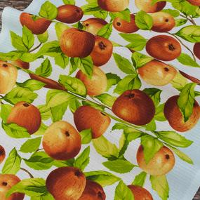 Набор вафельных полотенец 3 шт 50/80 см 5616/1 Яблочки фото