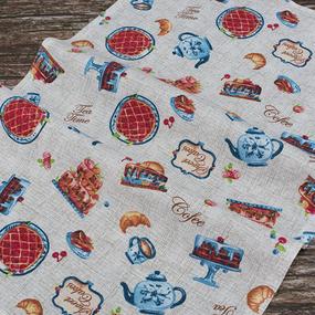 Набор вафельных полотенец 3 шт 50/80 см 5488/1 Чаепитие фото