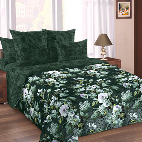 Перкаль 220 см 207141 Чародейка основа 1 зеленый фото